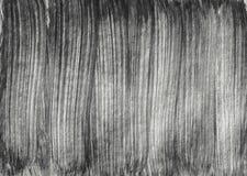 Målar svartvita band för abstrakt textur illustratio för borstekonstdesign vektor illustrationer