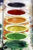 målar vattenfärg Royaltyfri Fotografi