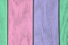 Målar wood bakgrund och textur för tappning med skalning Arkivbild