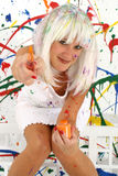 målare Royaltyfri Foto