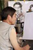 målare Arkivfoto