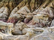 Målarfärg bryter platsen, Calhan, Colorado Arkivbilder