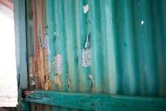 Målarfärg Chip Blue Royaltyfria Bilder