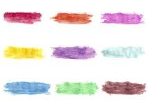 Målarfärg för Grungebanerbakgrunder Royaltyfri Fotografi