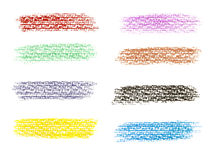 Målarfärg för Grungebanerbakgrunder vektor illustrationer