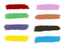 Målarfärg för Grungebanerbakgrunder Royaltyfri Bild