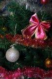 Målarfärg för jul och för nytt år Arkivfoto