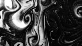 Målarfärg och dess blandning lager videofilmer