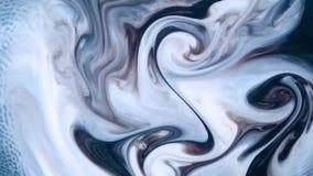 Målarfärg och dess blandning stock video