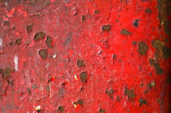 Målarfärg som av skalar väggen Royaltyfria Foton