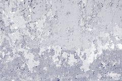 Målarfärgen skalade av väggen Royaltyfria Bilder