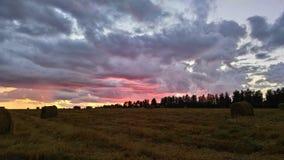 Målarfärger av himlen Arkivfoto