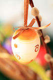 målat ägg Royaltyfri Fotografi