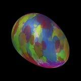 Målat ägg Arkivfoto