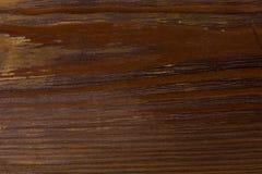 Målat brunt träbräde Royaltyfria Bilder