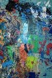 Målat färgrikt abstrakt begrepp royaltyfri bild