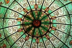 Målad glas royaltyfria bilder