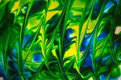 Målat glassavkokabstrakt begrepp Arkivbilder
