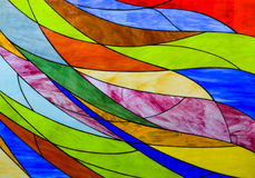 Målat glassbakgrund Royaltyfria Foton