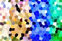 Målat glassbakgrund Arkivbild