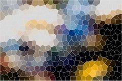 Målat glassbakgrund Arkivfoton