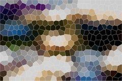 Målat glassbakgrund Arkivfoto