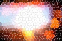 Målat glassbakgrund Fotografering för Bildbyråer