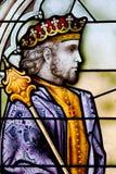 Målat glassfönster royaltyfria bilder