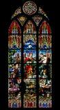 Målat glassfönster Royaltyfri Fotografi