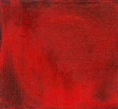 Röd målad bakgrund Arkivfoton