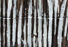 målat trä Arkivfoton