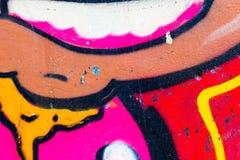 Målat wal för Closeup abstrakt begrepp Royaltyfria Bilder