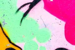 Målat wal för Closeup abstrakt begrepp Royaltyfri Bild