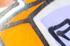 Målat wal för Closeup abstrakt begrepp Arkivfoton
