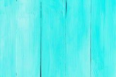 Målat Wood bräde för blå turkos arkivbild