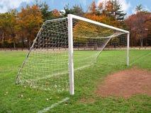 målfotboll Fotografering för Bildbyråer