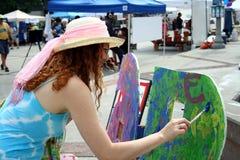målning Royaltyfria Bilder