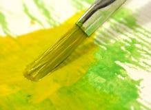 målning stock illustrationer