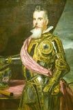 Målning av den aristokratiska mannen i museet de Prado, Prado museum, Madrid, Spanien Royaltyfria Bilder