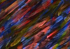 Målning Childs för abstrakt konst Arkivbilder