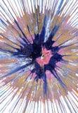 Målning för abstrakt expressionism - blåbärpaj vektor illustrationer