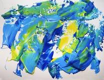 Målning för abstrakt konst för bakgrund, textur arkivfoto