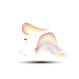 Målning för vektorillustrationhöna Arkivfoton
