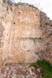 Målningar för innervägg för Philippi basilika A arkivbilder