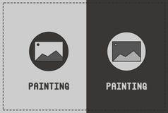 Målningillustration Arkivfoton
