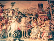 Målningrome musium Italien Europa Arkivbilder