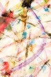 målningsakvarell Royaltyfri Bild