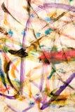 målningsakvarell Arkivbild