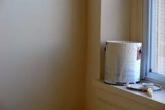 målningslokal Fotografering för Bildbyråer