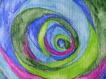 målningsvattenfärg Arkivfoto